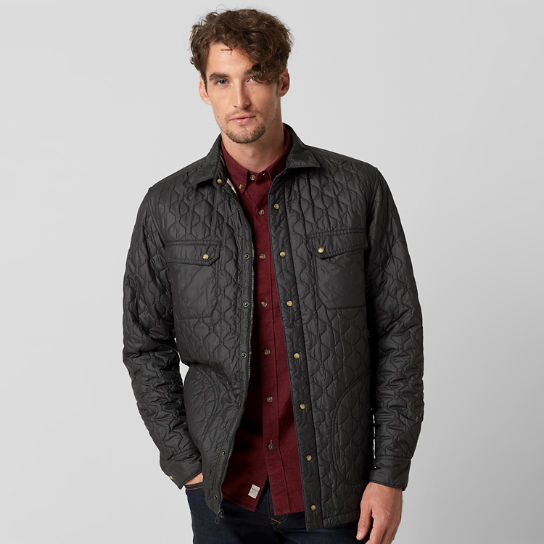 Men's Bass River Lightweight Quilted Shirt Jacket