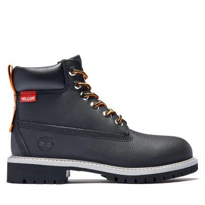 Junior 6-Inch Premium Helcor® Leather Waterproof Boots