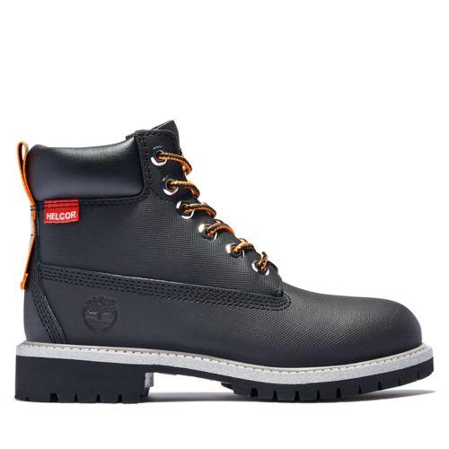 Junior 6-Inch Premium Helcor® Leather Waterproof Boots-