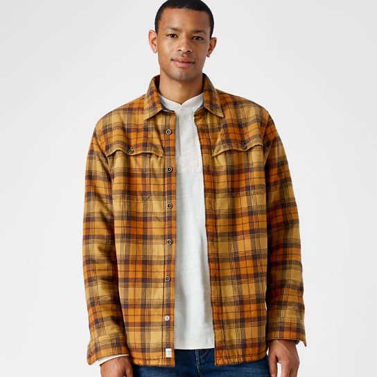 Men's Fleece-Lined Flannel Shirt