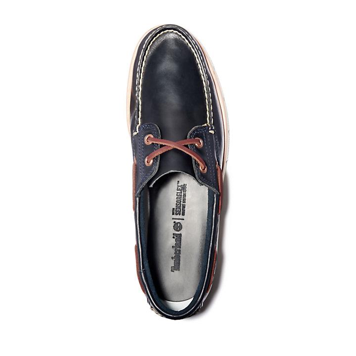 Men's Tidelands 2-Eye Leather Boat Shoes-