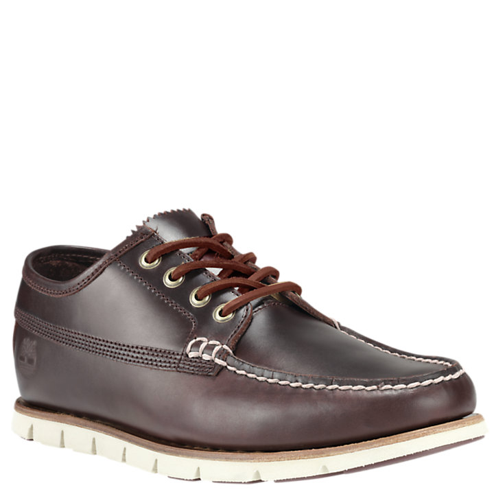 Men's Tidelands Leather Ranger Moc Shoes-