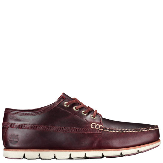 Men's Tidelands Leather Ranger Moc Shoes