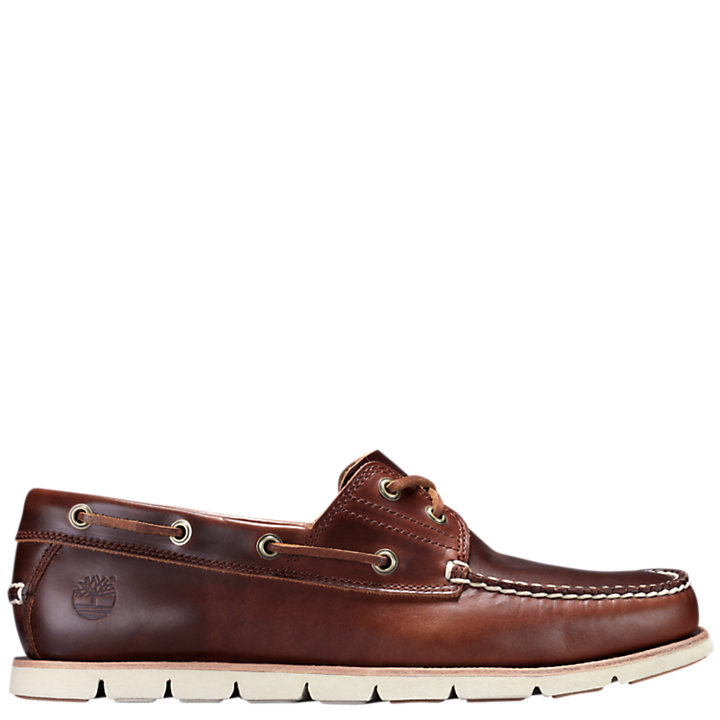 Men's Tidelands 2-Eye Leather Boat Shoes-