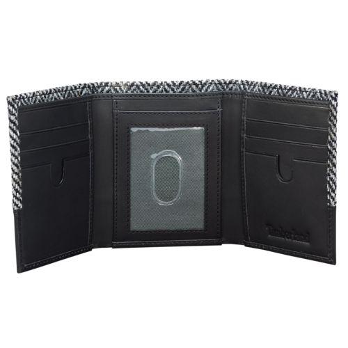 Harris Tweed® Fabric Tri-Fold Wallet-