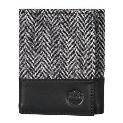 Harris Tweed® Fabric Tri-Fold Wallet