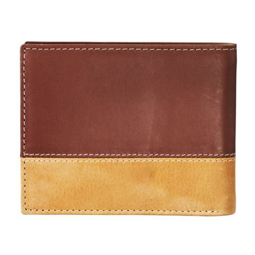 Middle Branch Tri-Fold Leather Wallet-