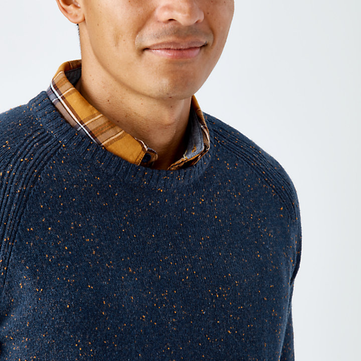 Men's Beech River Crew Neck Wool Sweater-