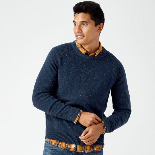 Men's Beech River Crew Neck Wool Sweater