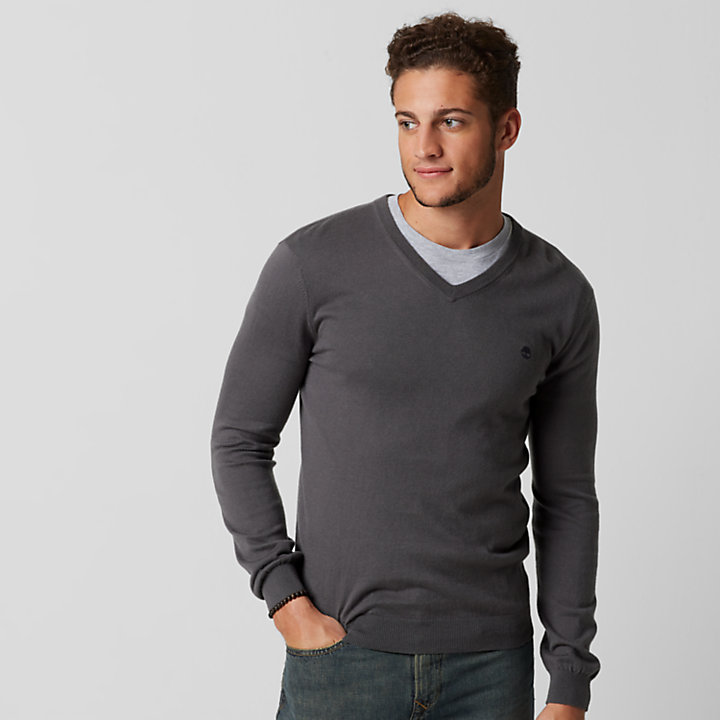Men's Hampton River Slim Fit V-Neck Sweater-