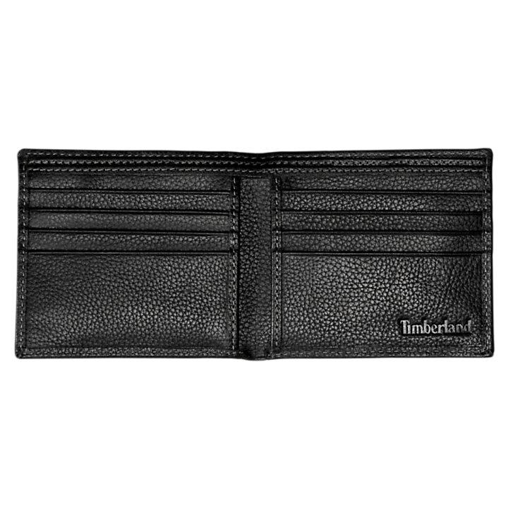 Black River Large Bi-Fold Leather Wallet-
