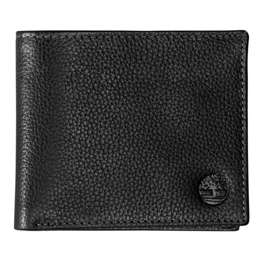 Black River Large Bi-Fold Leather Wallet