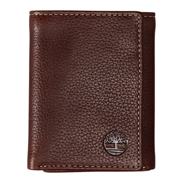 Black River Tri-Fold Leather Wallet-