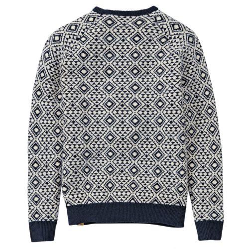 Men's Simms River Fairisle Crew Neck Sweater-
