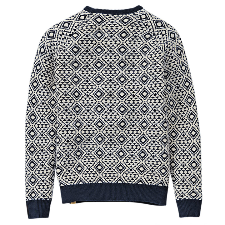 Men's Simms River Fairisle Crew Neck Sweater-