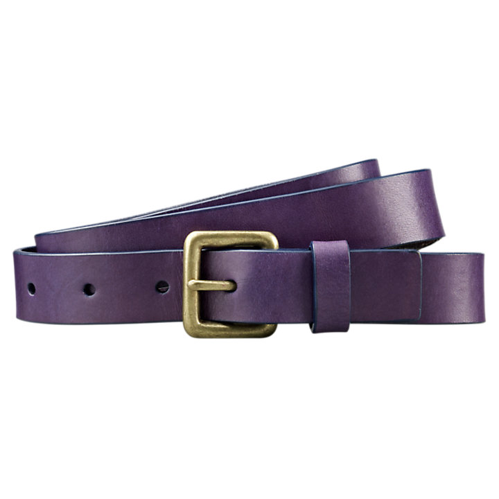 Women's Skinny Leather Belt-