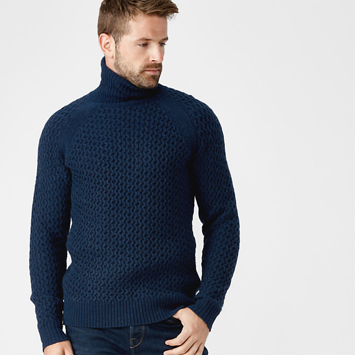 Men's Simms River Roll-Neck Sweater-