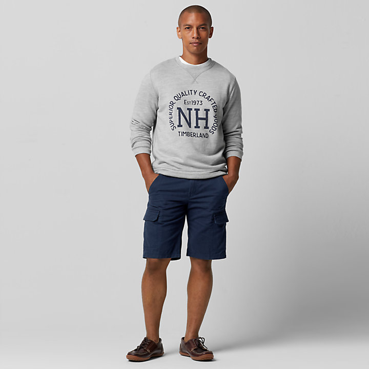 Men's Shedd River Slim Fit Graphic Sweatshirt-