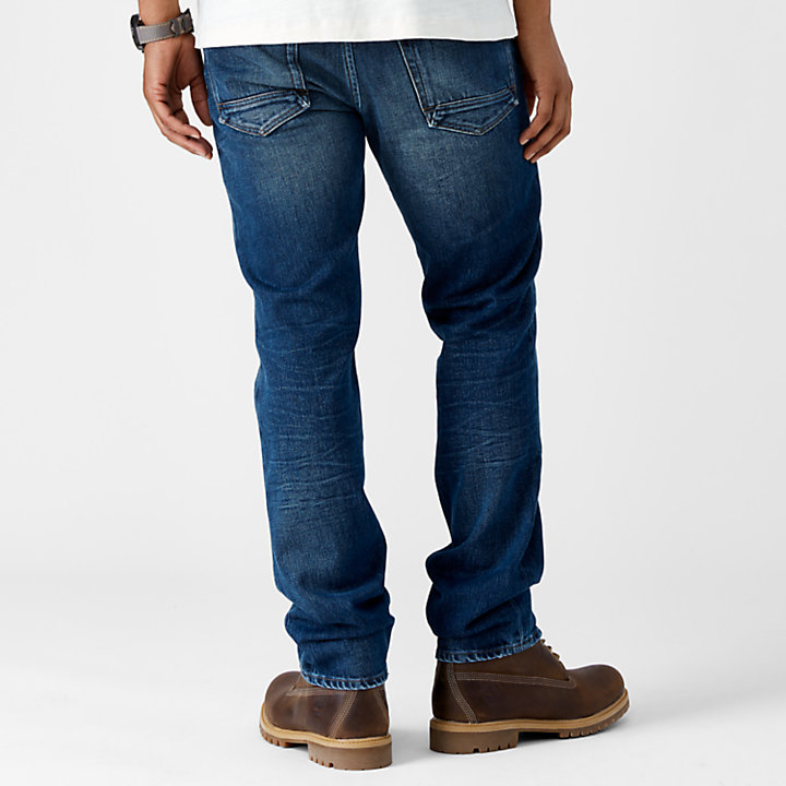 Men's Squam Lake Straight Fit Winter Denim Pant-