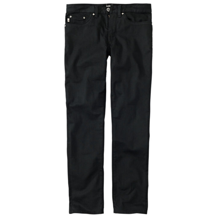 Men's Sargents Lake Slim Fit Black Denim Pant-