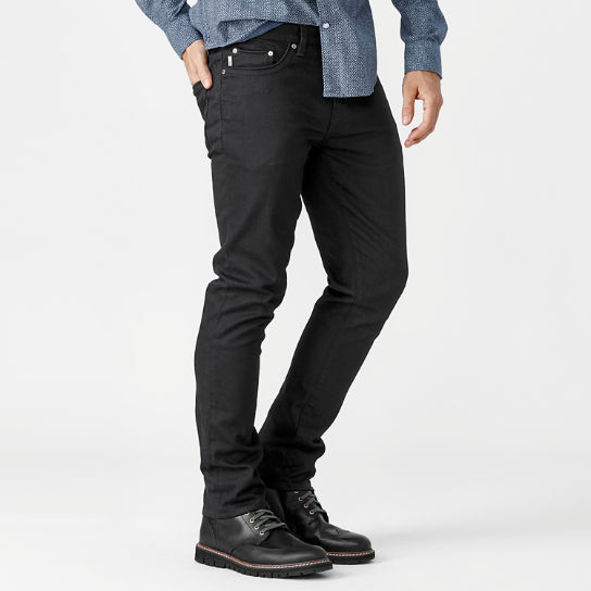 Men's Sargents Lake Slim Fit Black Denim Pant