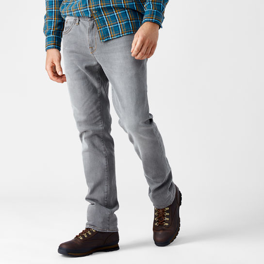 Men's Squam Lake Straight Fit Grey Denim Pant