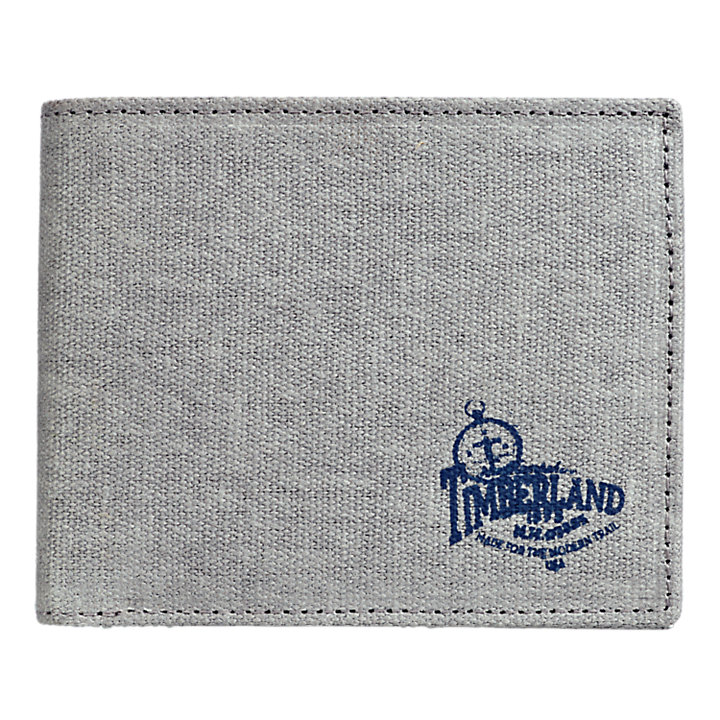 Canvas Screenprinted Wallet-