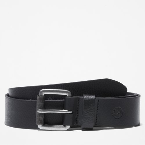 Men's Milled Leather Belt-