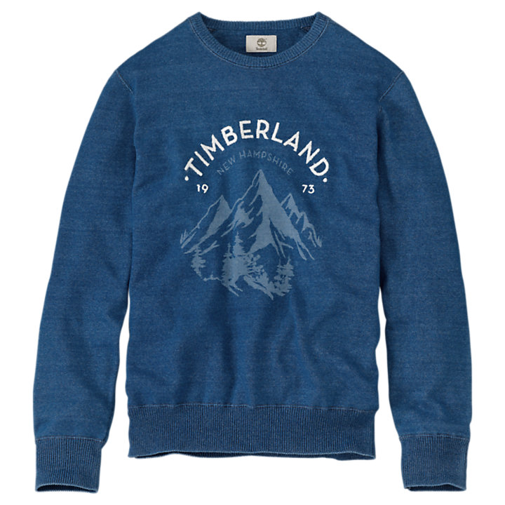 Men's Taunton River Mountain Graphic Sweater-