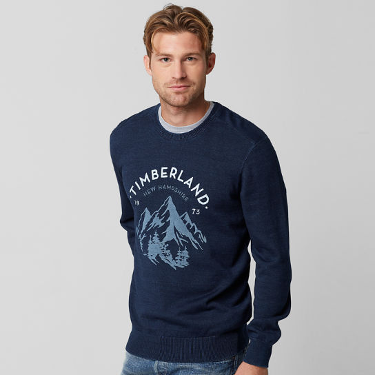 Men's Taunton River Mountain Graphic Sweater