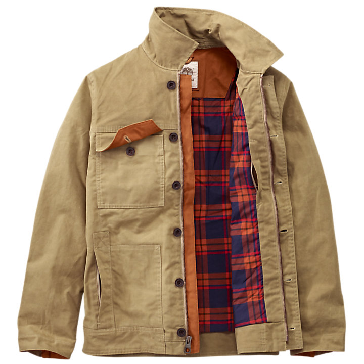 Men's Mount Davis Waxed Chore Coat-