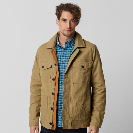 Men's Mount Davis Waxed Chore Coat