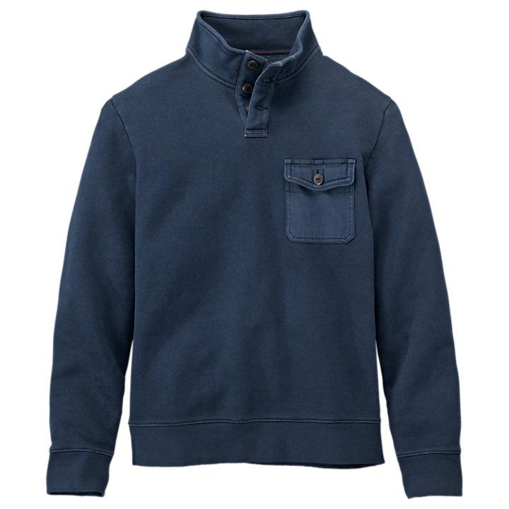 Men's Browns River Quarter-Button Sweatshirt-
