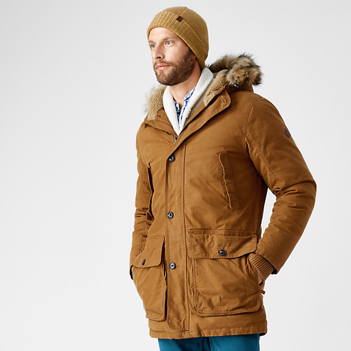 Men's Scar Ridge Waxed Canvas Down Parka-