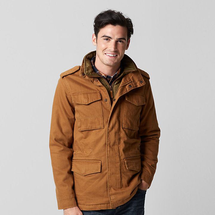 Men's Barrett Mountain Insulated M65 Jacket-