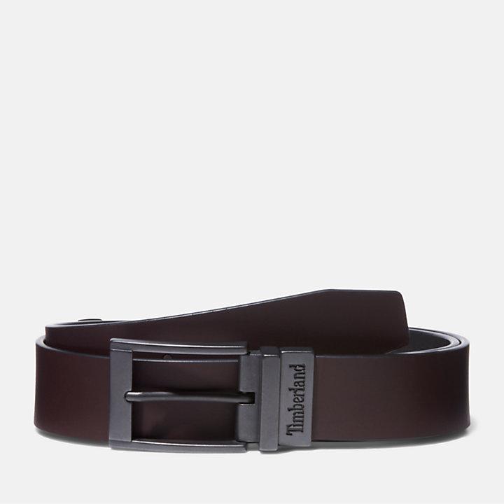Men's Reversible Leather Jean Belt-