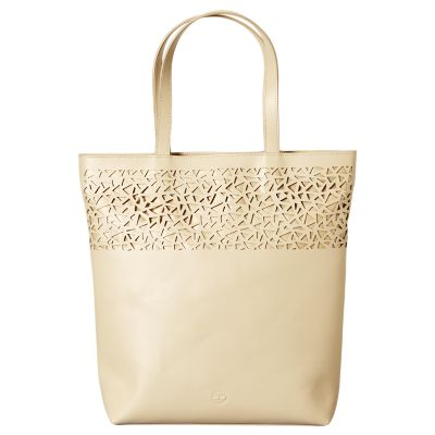 Boltero Perforated Leather Tote