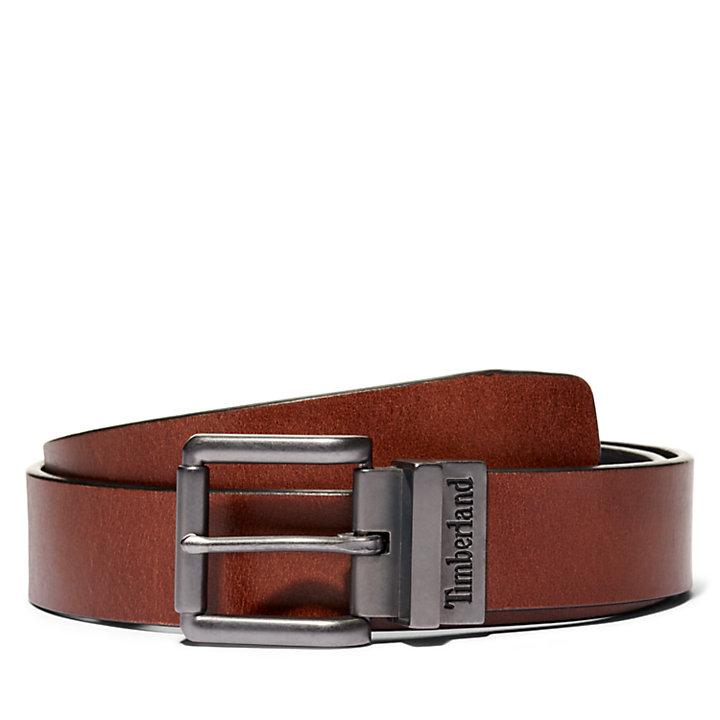 Men's Reversible Buffalo Leather Belt-