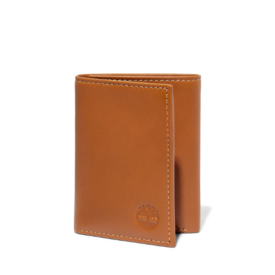 Smooth Leather Tri-Fold Wallet