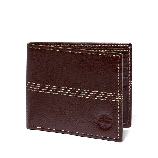 Pebbled Leather Bi Fold Wallet Timberland Us Store