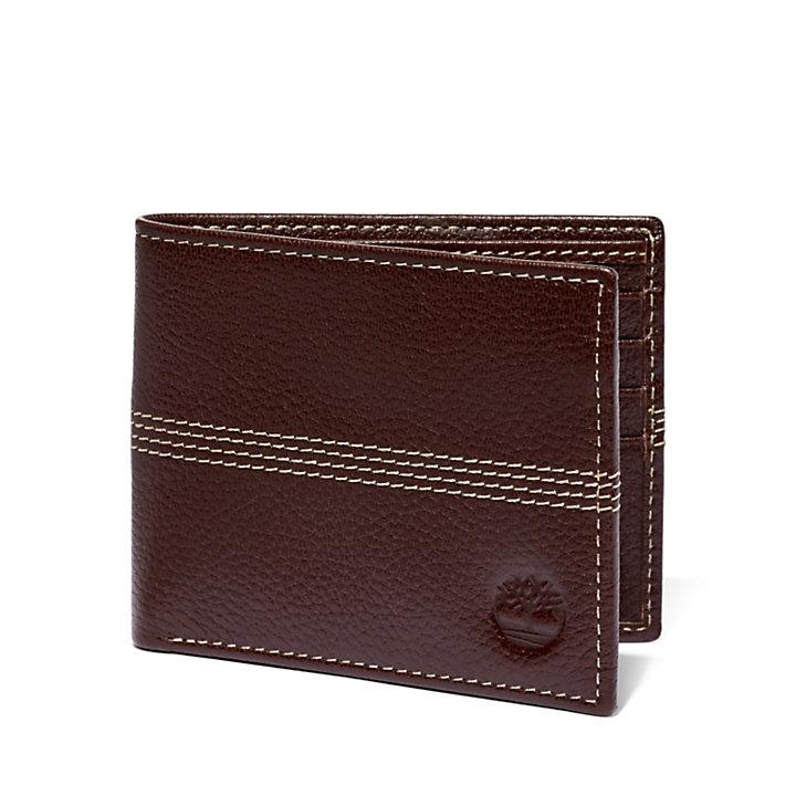 Pebbled Leather Bi-Fold Wallet-