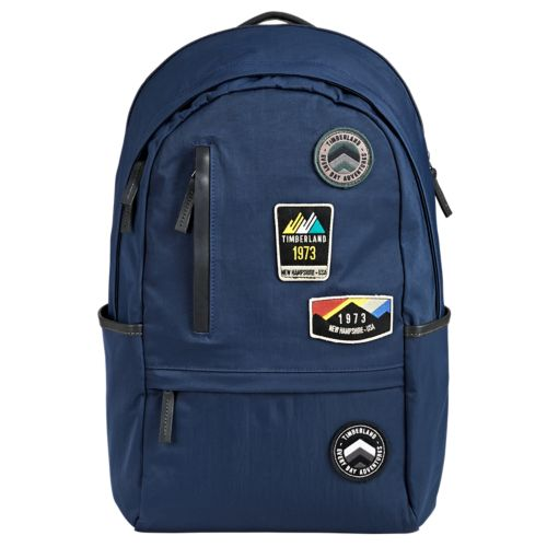 Ferndale 19-Liter Water-Resistant Patch Backpack-
