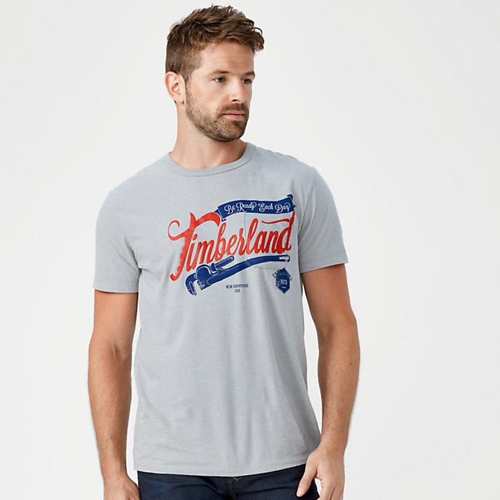 Men's Patch Pocket Graphic Logo T-Shirt-