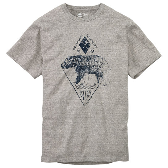 Men's Everyday Slub Graphic T-Shirt