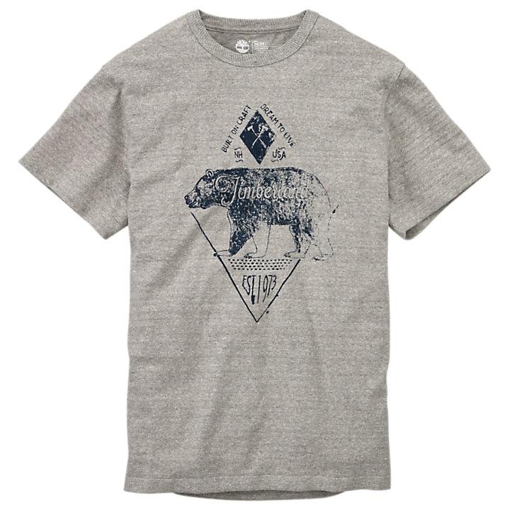 Men's Everyday Slub Graphic T-Shirt-