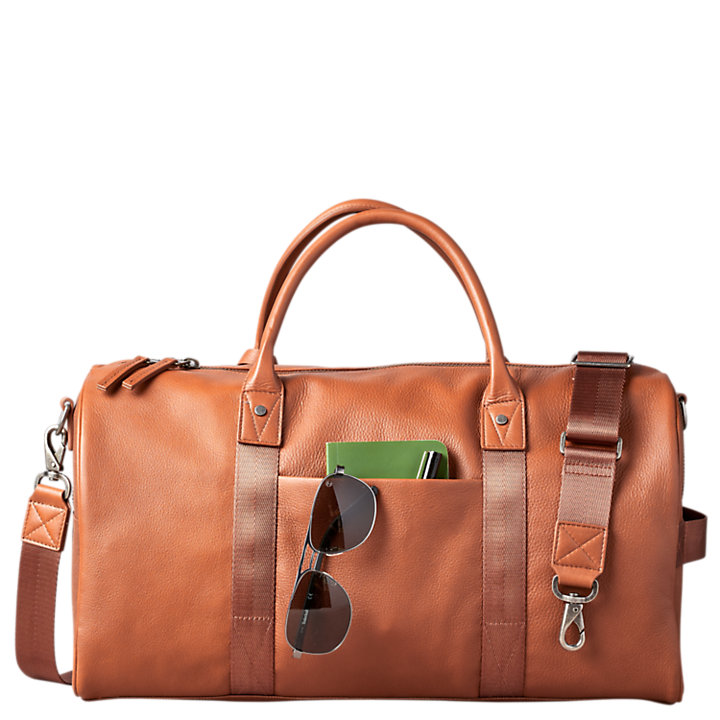 Tuckerman Leather Duffle Bag-