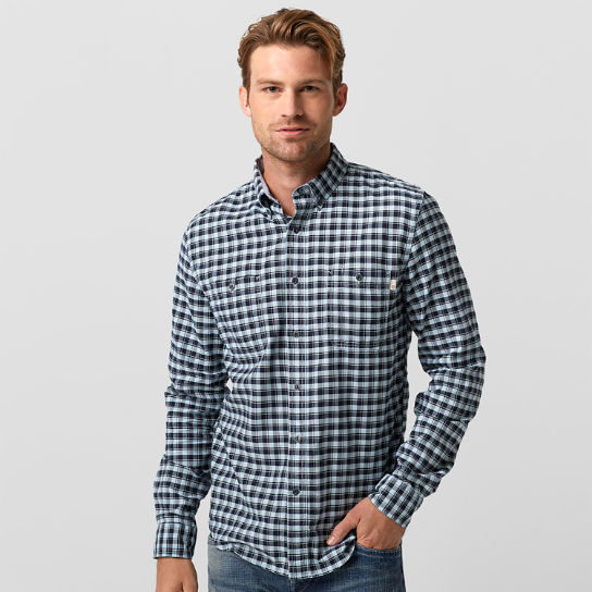 Men's Peabody River Slim Fit Oxford Check Shirt