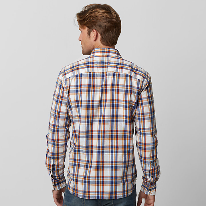 Men's Batson River Slim Fit Plaid Shirt-