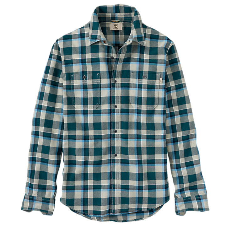 Men's Peabody River Large Check Shirt-