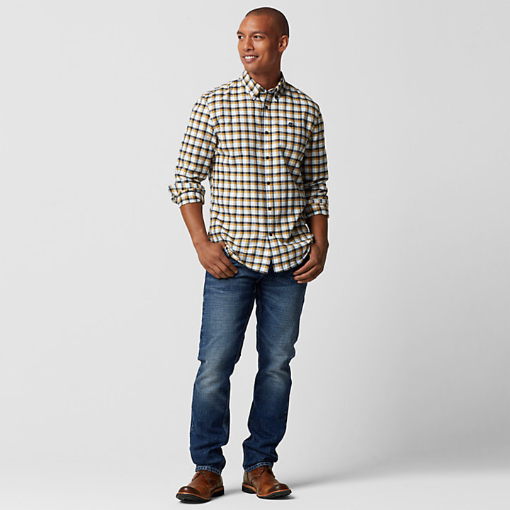 Men's Indian River Slim Fit Flannel Shirt-